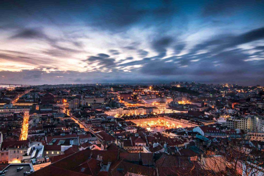 Вечерний Лиссабон (фото)