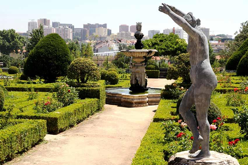 Парки Лиссабона (фото)