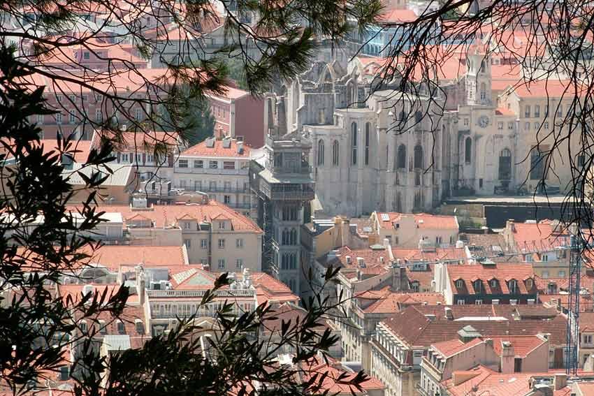 Экскурсии в Лиссабоне: Лифт Санта Жушта