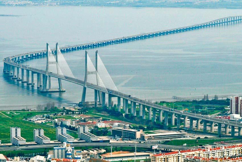 Достопримечательности в Португалии: Мосты Лиссабона